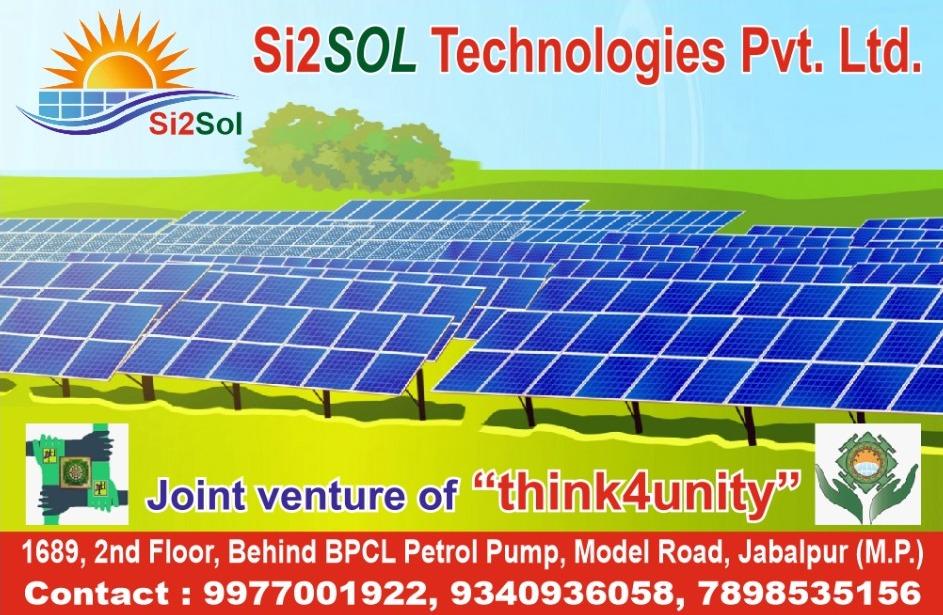 Si 2 So Solar comapny Jabalpur