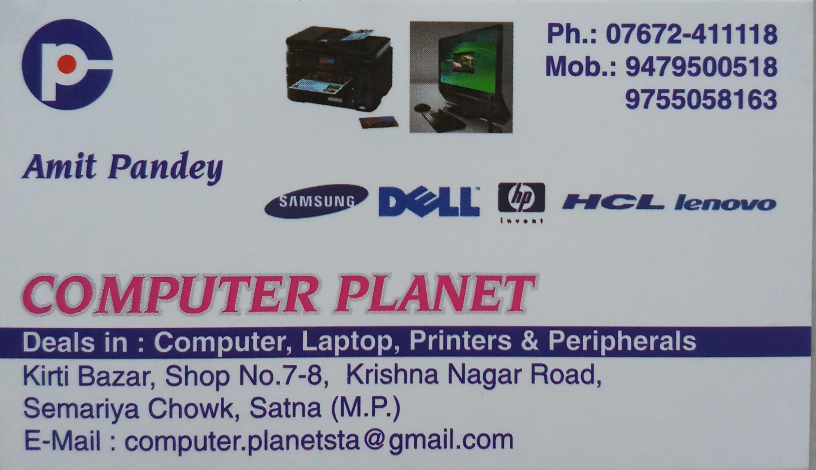 COMPUTER PLANET SATNA Mob-9479500518 ,9755058163