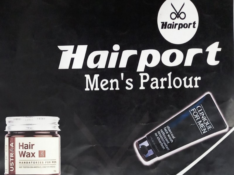 Hair Port Men's Parlour padara mob-8750940946