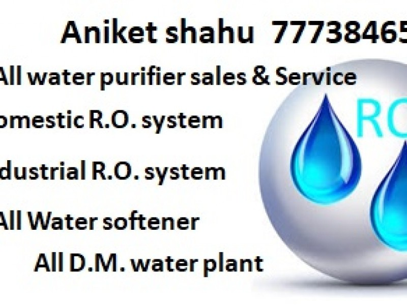 Aniket R.O. Water All types of R.O sales & services point Ranital Jabalpur 7773846594