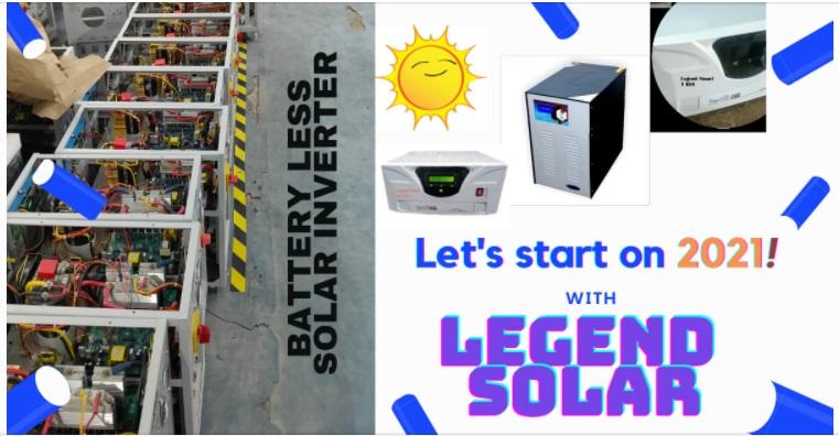 Deals in all solar field