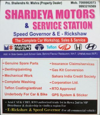 Servicing & maintenance of light all vehicle