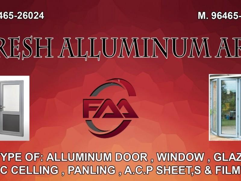 Fresh Aluminium Art  Ludhiana