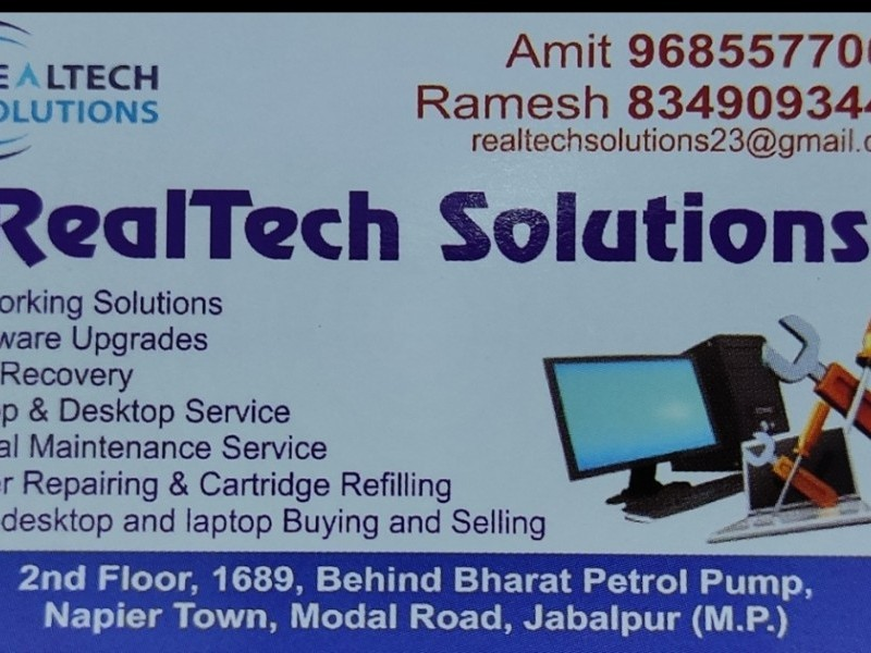Real teck solutions 9685577004 , 8349093442